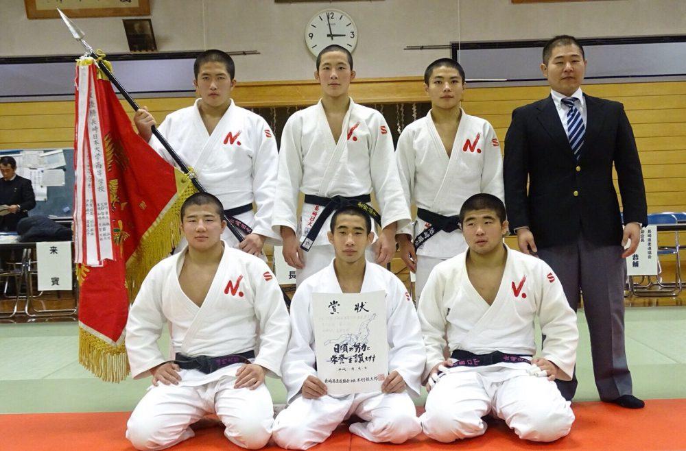 長崎日本大学中高柔道部